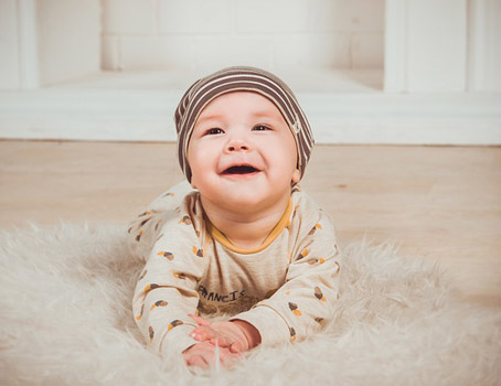 Псориазис при бебета