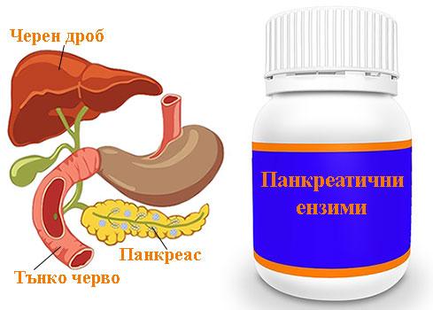 ензими на панкреаса