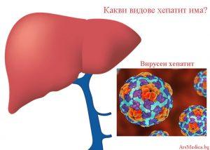 видове хепатит
