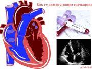диагностицира ендокардит