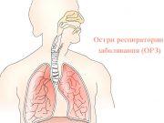 острите респираторни заболявания (ОРЗ)