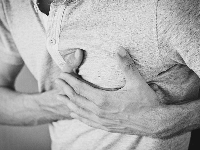 болка в гърдата при мъже