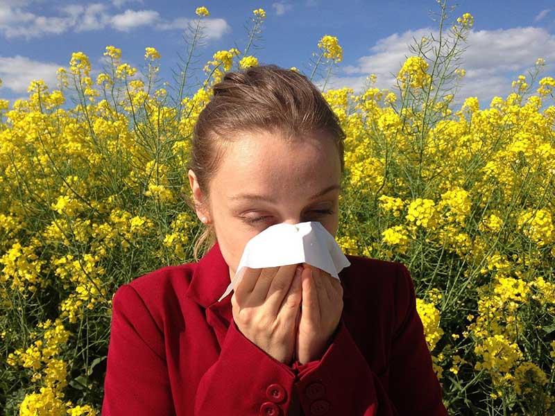 видове алергични реакции